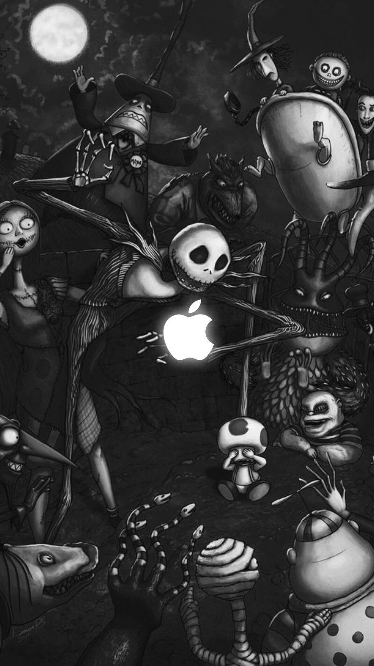 The Nightmare Before Christmas Wallpaper Iphone