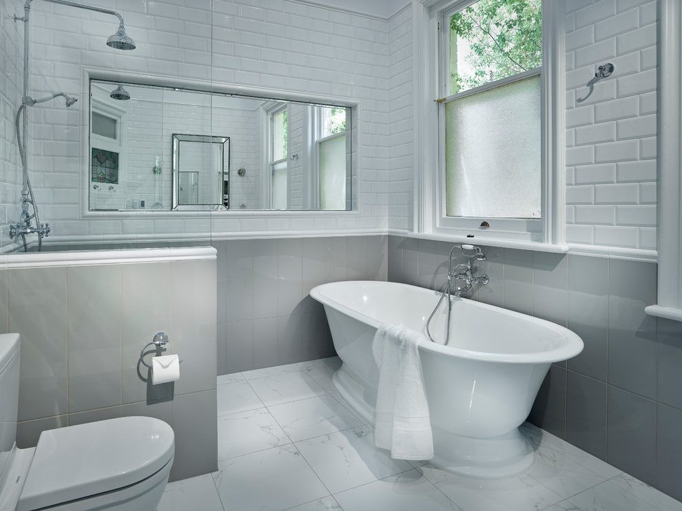 Square Bathroom Layout Contemporary With Bath Mixers