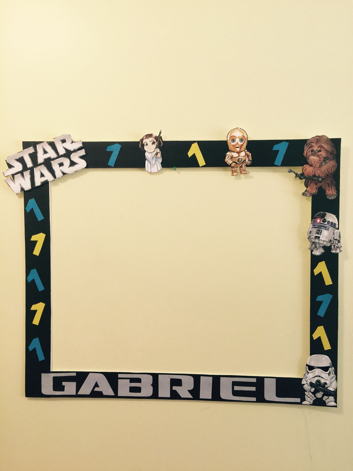 Star wars photo booth frame photo booth frame scozshop star wars photo booth frame jeuxipadfo Choice Image