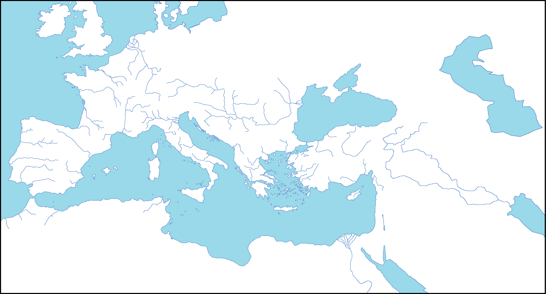 Blank Map of Roman Empire | ファイル:Blank Roman Empire.png ...