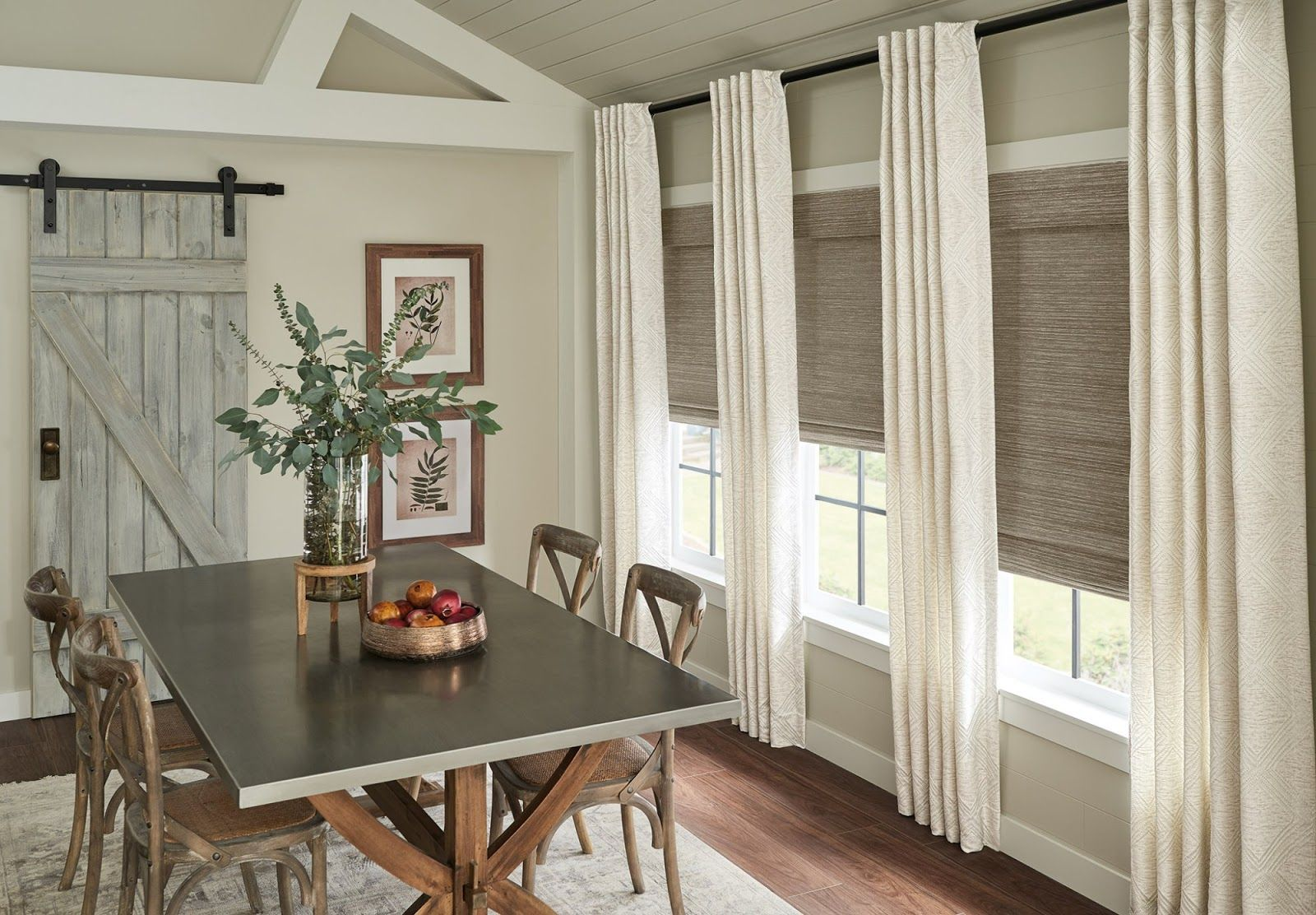 The Top 6 Dining Room Curtain Ideas For Your Home Curtains Up Blog Kwik Hang In 2021 Window Treatments Living Room Dining Room Curtains Dining Room Windows