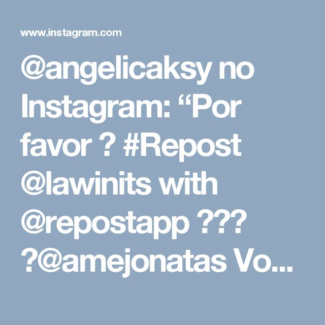 """@angelicaksy no Instagram: """"Por favor 🙏 #Repost @lawinits with @repostapp ・・・ 🆘@amejonatas Você pode ajudar a secar essas lágrimas com um simples gesto de amor . Fiz…"""""""