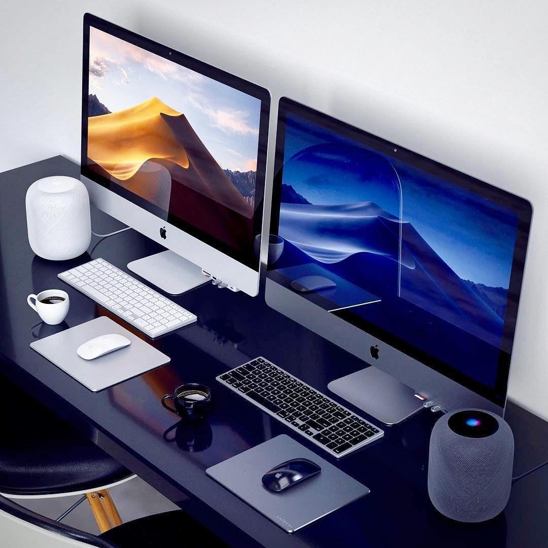 Deskdsign Un Bureau Agreable C Est Important Pour Travailler Avec Productivite Sur Le Web Affiliation Entreprene Bureau Apple Chambre Ado Gamer Produits Apple