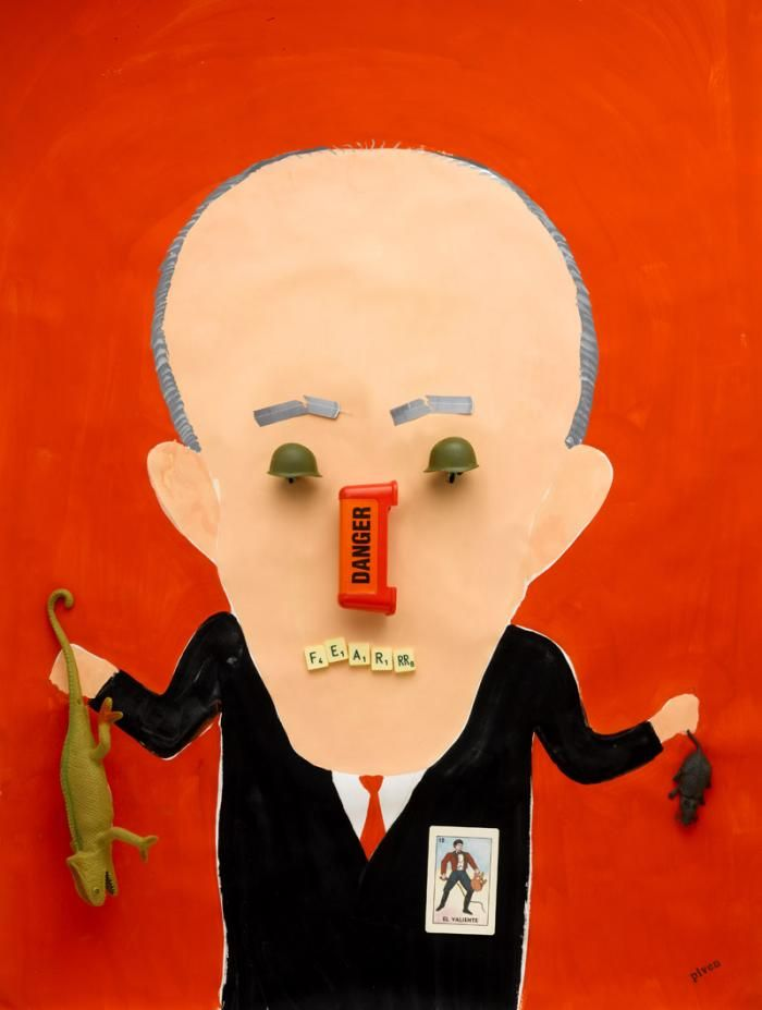 Rudy Giuliani Hanoch Piven Illustration Rudy Giuliani Illustration Art