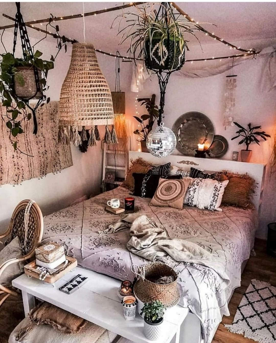 60 Bedrooms with Boho Colors Charm (mit Bildern