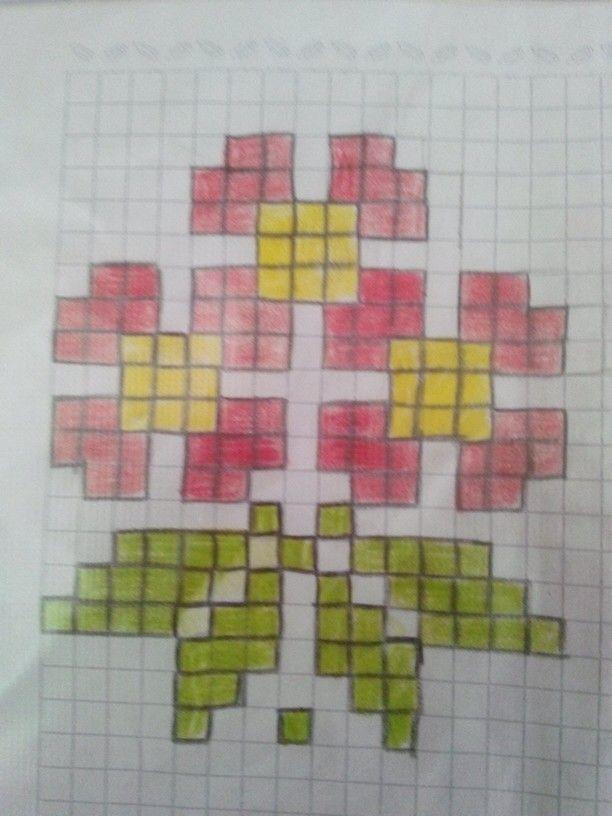 Wayuu Mochila pattern flowers | yarn | Pinterest | Cross stitch ...