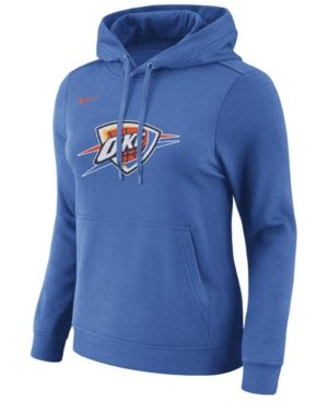 best sneakers 40ff7 eaaf2 Nike Women's Oklahoma City Thunder Logo Hooded Sweatshirt ...