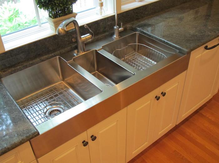 triple bowl sink for the multi tasker
