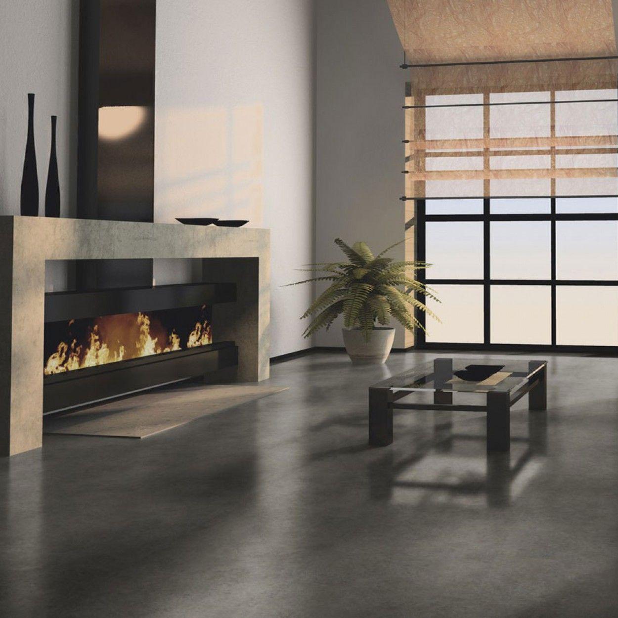 Luxury City Chic Interior Design Glue Down Vinyl Flooring
