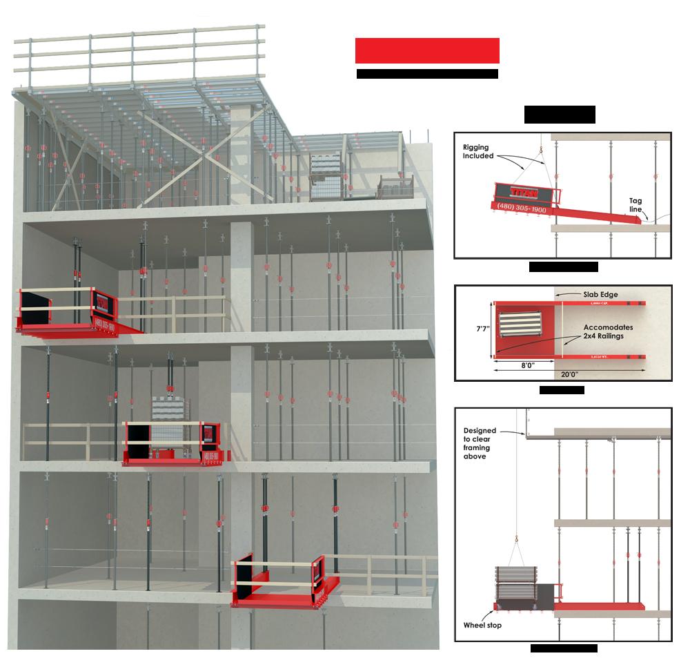 Titan Formwork Systems Titan Outrigger Platform