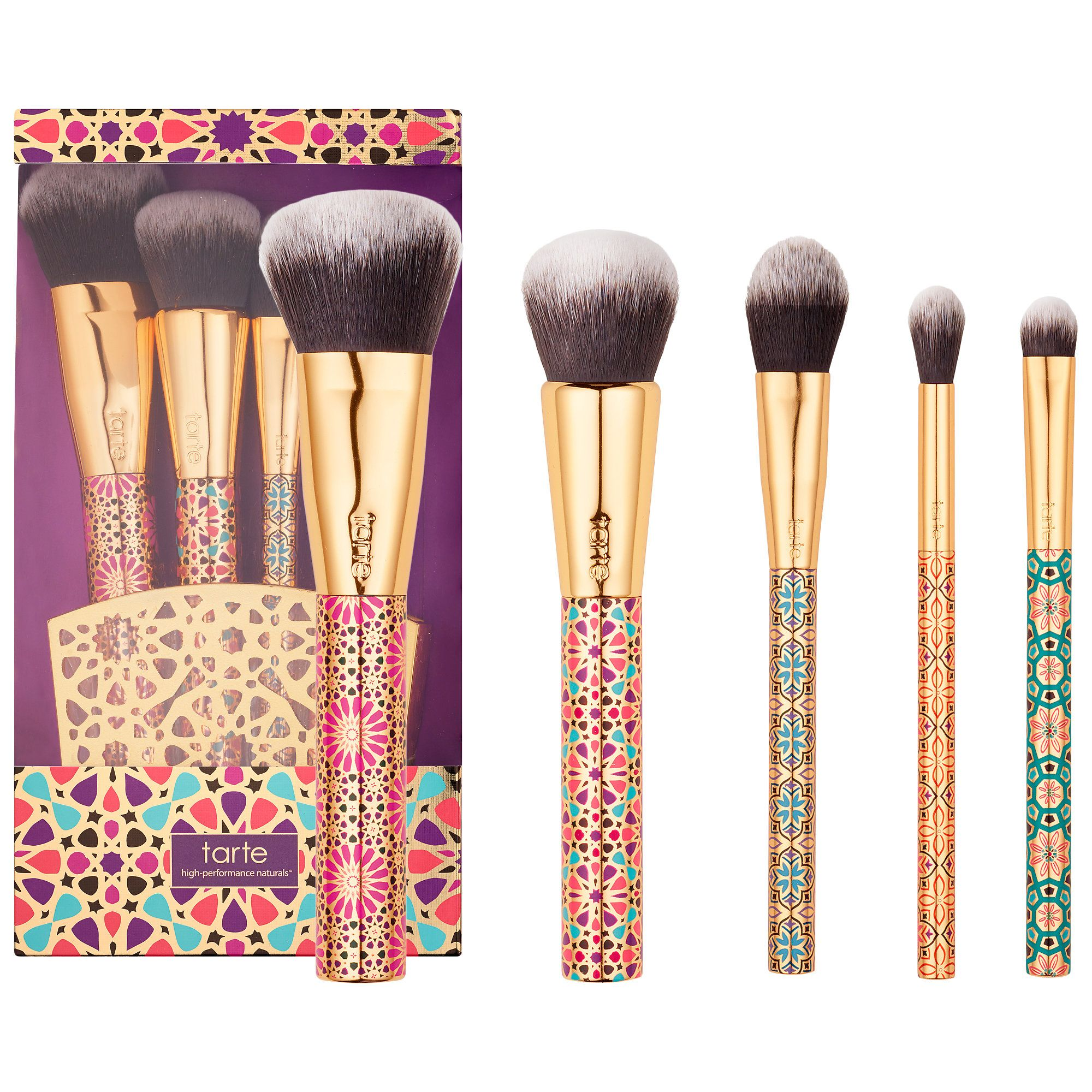 Tarte Christmas 2019 Tarte Limited Edition Artful Accessories Brush Set, new for
