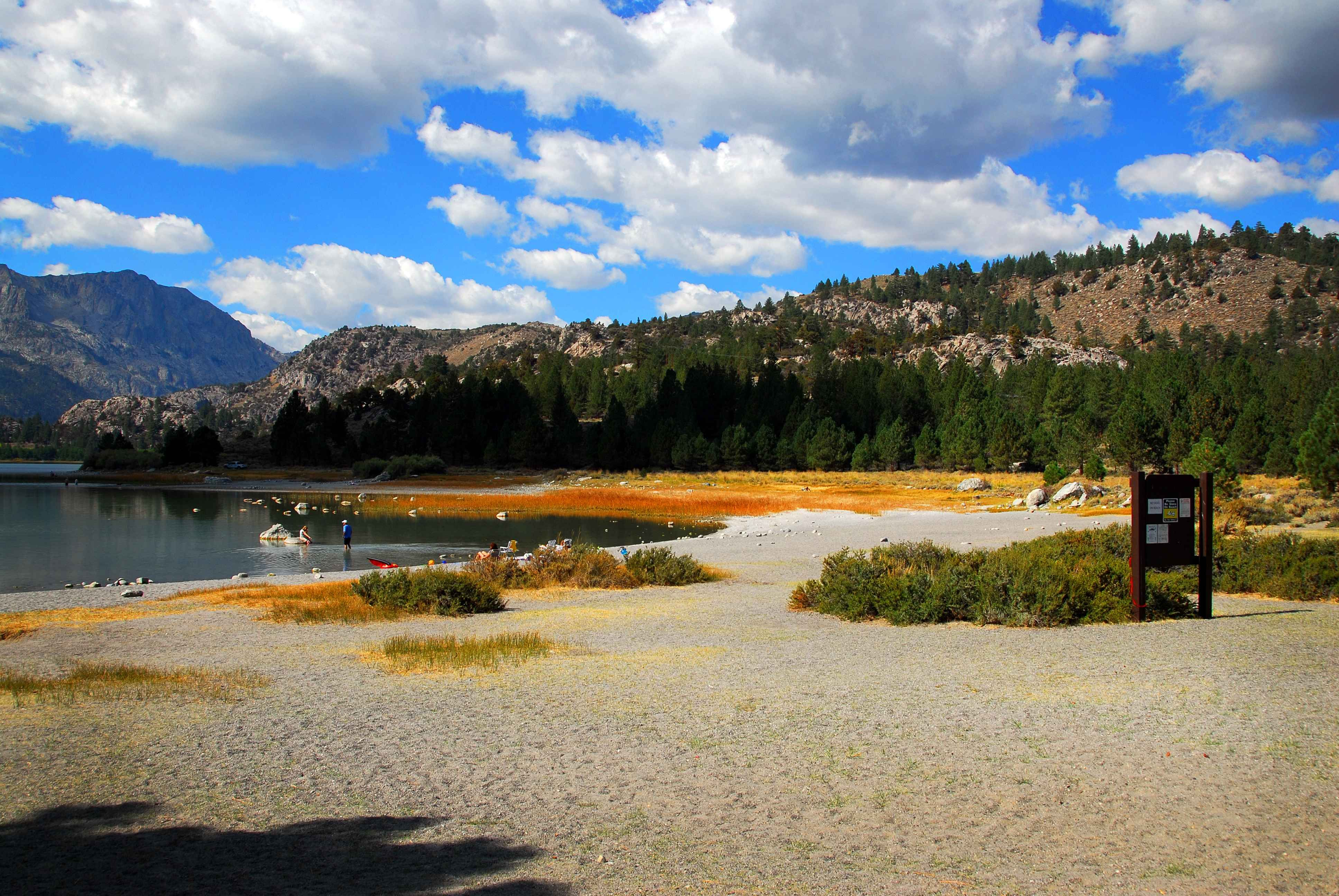 Oh ridge beach mammoth lakes camping guide campground
