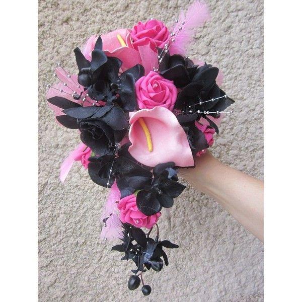 ouquet de mari e tombant fait la main avec des fleurs. Black Bedroom Furniture Sets. Home Design Ideas