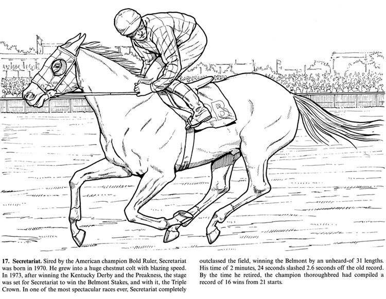 84 Coloring Pages Of Horse And Buggy