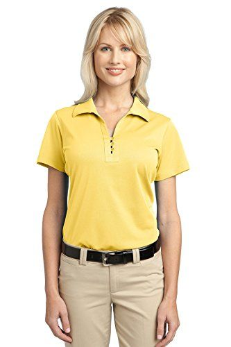 Port Authority Womens Tech Pique Polo XL Splendid Yellow -- Be sure to check out this awesome product. Note:It is Affiliate Link to Amazon.