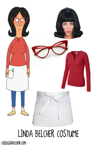 Halloween13  Bob s Burgers Costume Ideas - How to get Linda Belcher s style 8180cc56e