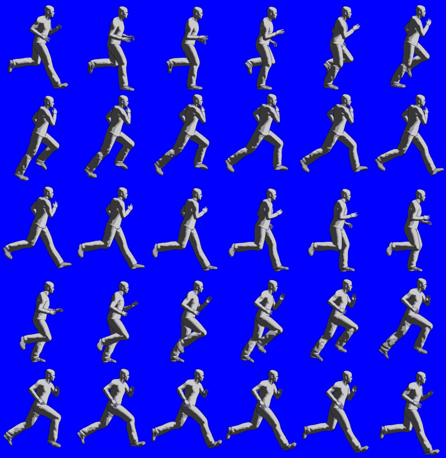 Анимация в движении примеры
