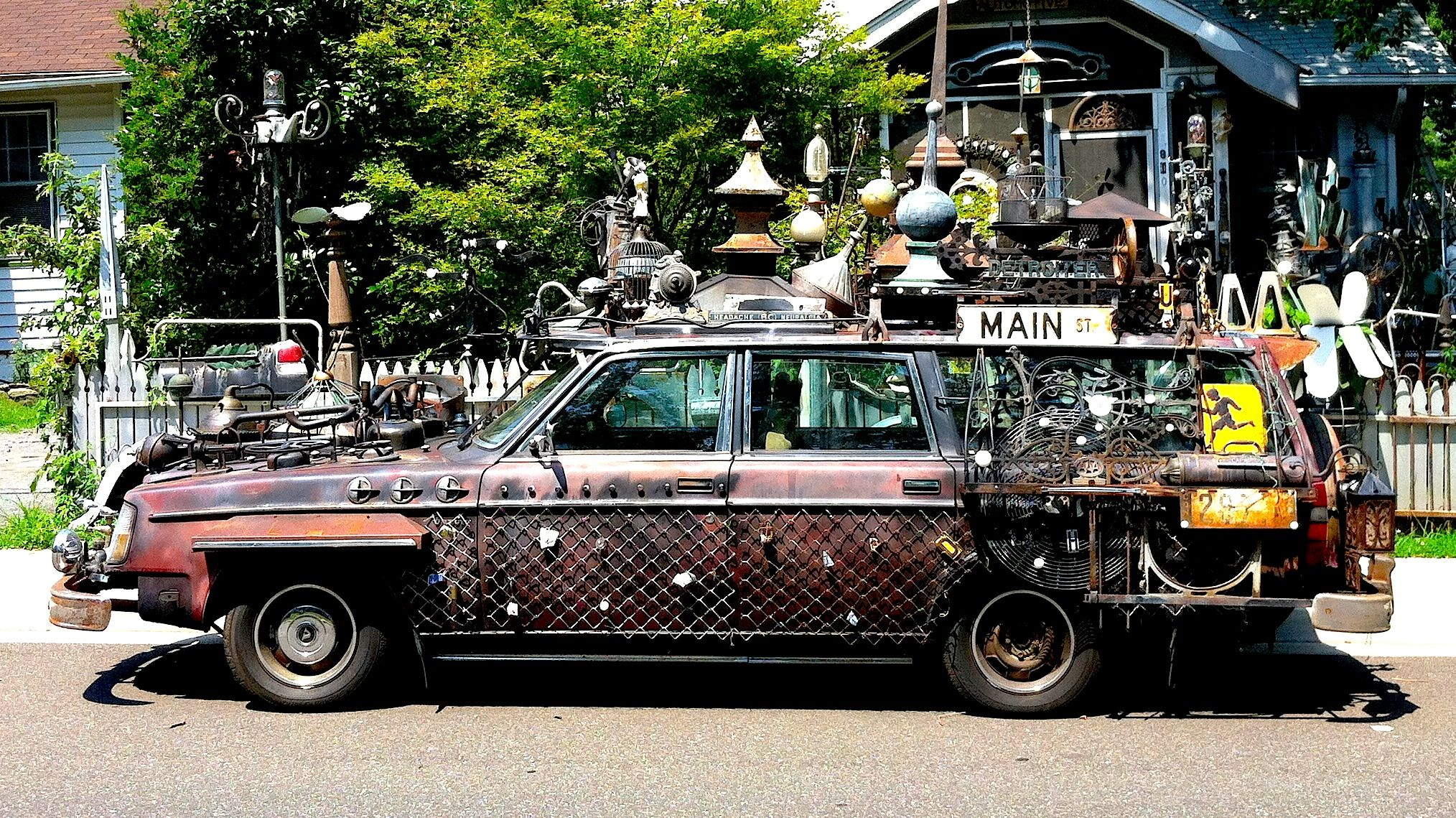 Steampunk Cars Ve Never Seen These Cars Moving Down The