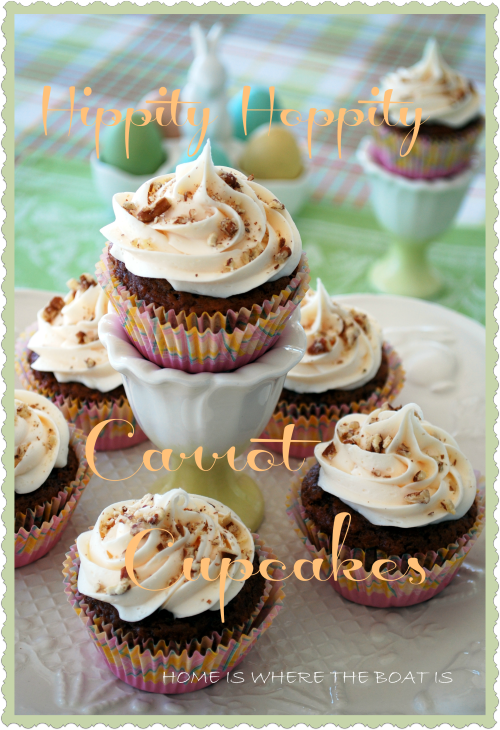 carrot cake cupcakes using cake mix