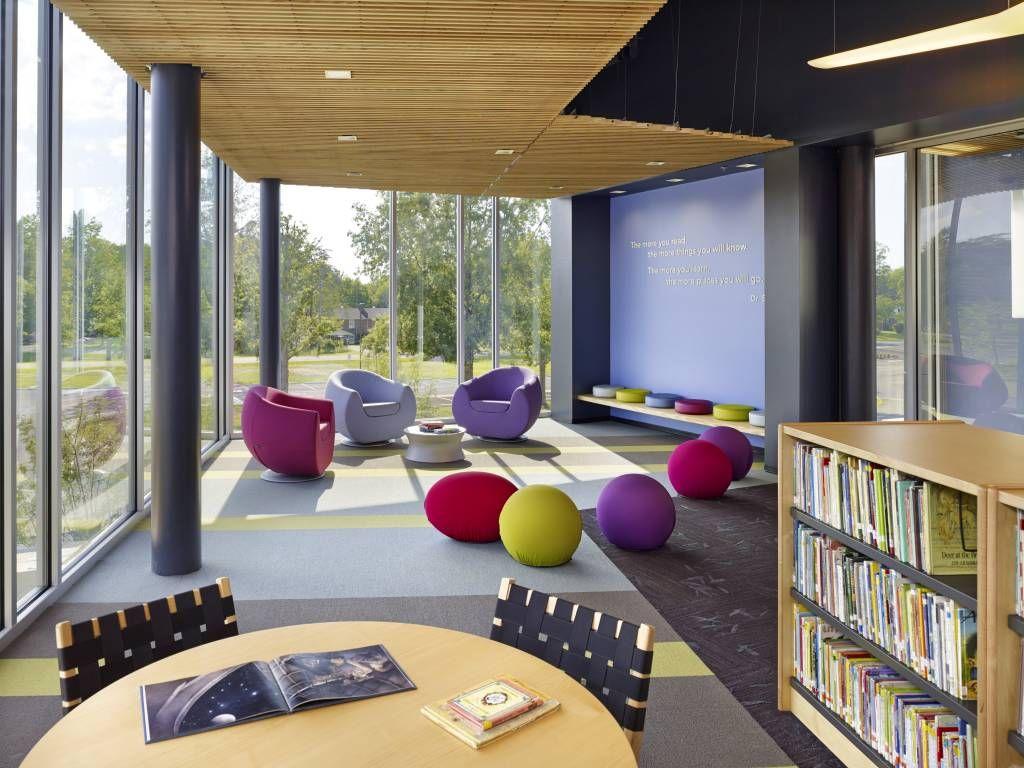 2014 Market Winner Buckingham County Primary And Elementary Schools By VMDO Architects SchoolElementary SchoolsSchool DesignLibrary