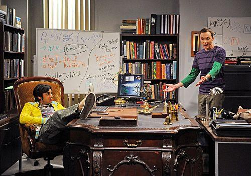The great Raj-Sheldon Desk Disturbance