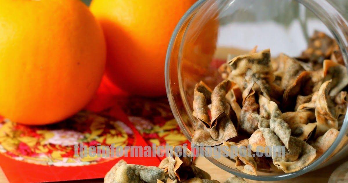 Chinese New Year Snacks Crispy Seaweed Popiah Skin with