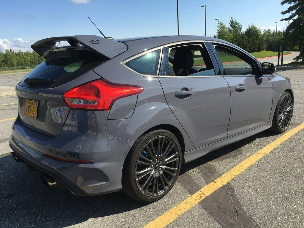 2016 Ford Focus Rs Stealth Grey Ford Focus Ford Focus Rs