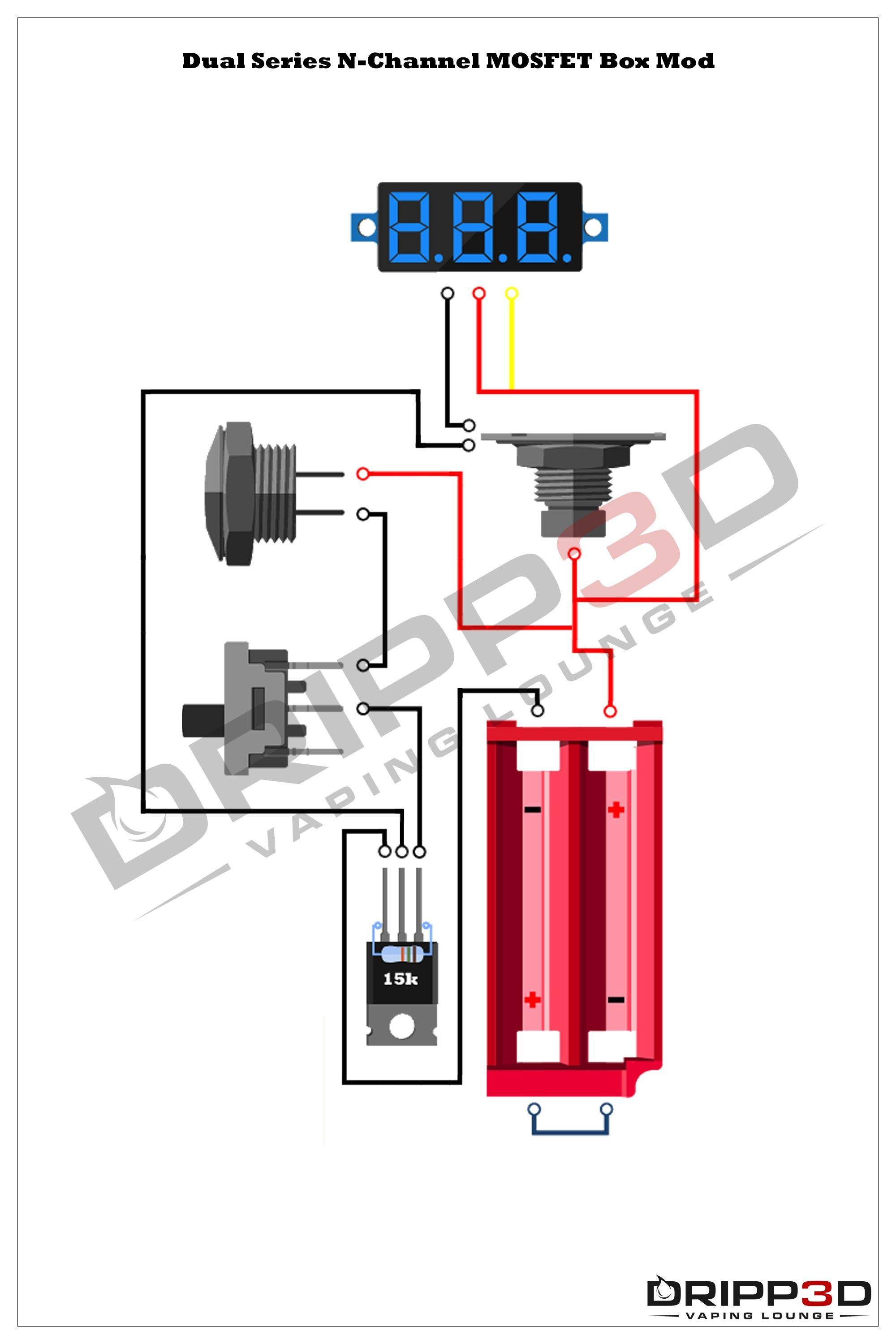 Series Box Mod Wiring Diagram Di 2020