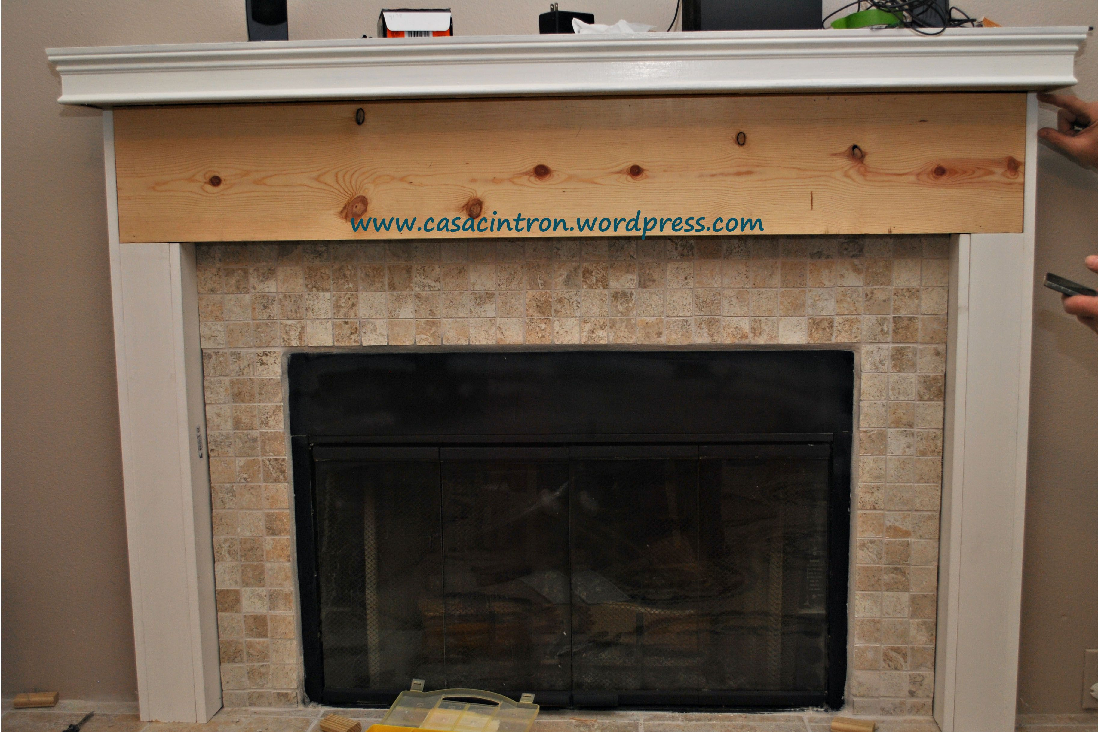 How to build a fireplace mantlesurround phase 2 fireplace reveal how to build a fireplace mantlesurround phase 2 fireplace reveal solutioingenieria Images