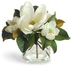 white magnolia arrangements - Google Search