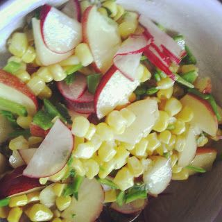 Summer Nectarine and Corn Salad from DrinkFoodTravel