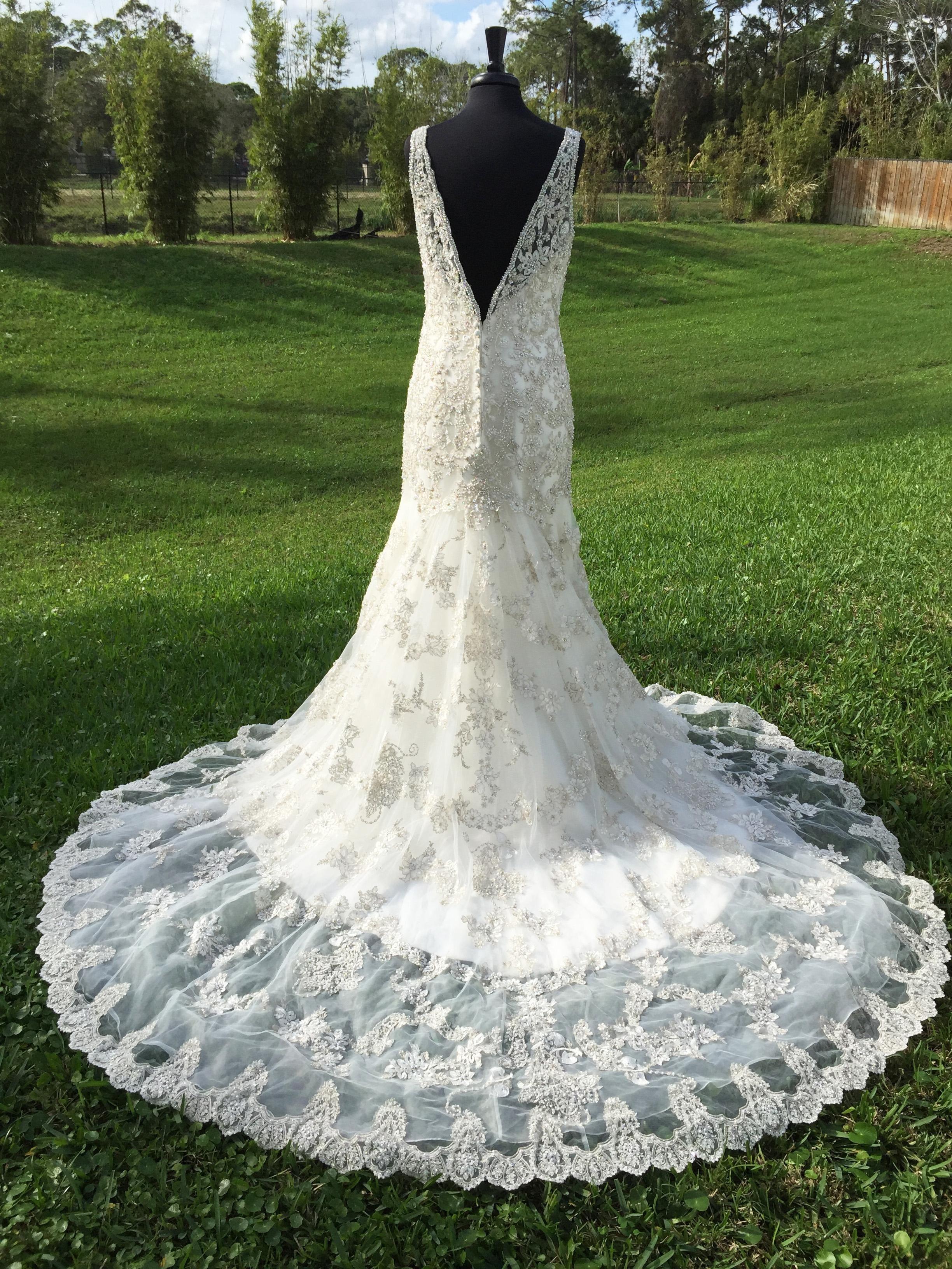 Ivory Couture C250 Formal Wedding Dress   Pinterest   Allure bridal ...
