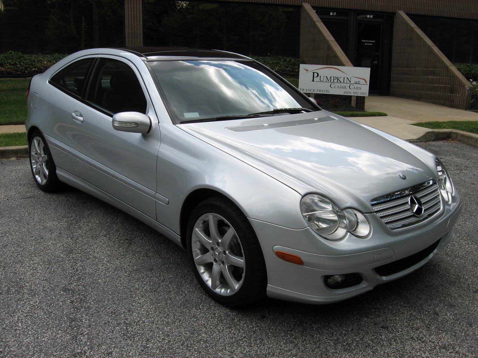 My Dream Car For The Moment 2005 Mercedes Benz C230 Kompressor Coupe Carros