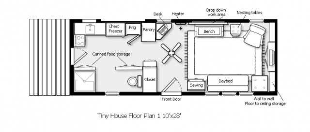 small floor plan | Small floor plans, Tiny house plans ... on