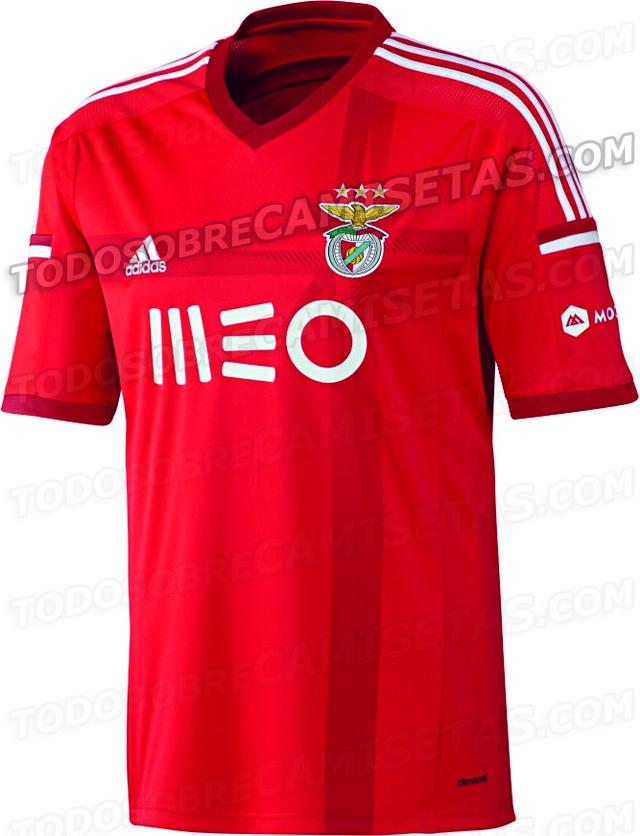 d2a6c7b71f Fora-de-jogo  Imagens  A nova camisola do Benfica para 2014 2015 ...
