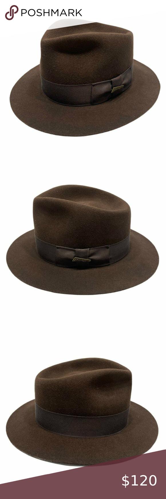 1984 Indiana Jones Stetson Fedora Promo Hat Pin Vintage 1984 Indiana Jones Brown Stetson Fedora Promo Hat Pin Rare To Find Th Stetson Fedora Stetson Fedora
