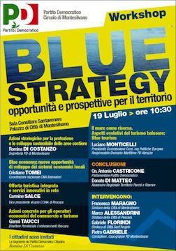"""Montesilvano,""""Blue strategy: opportunità e prospettive per il territorio"""""""