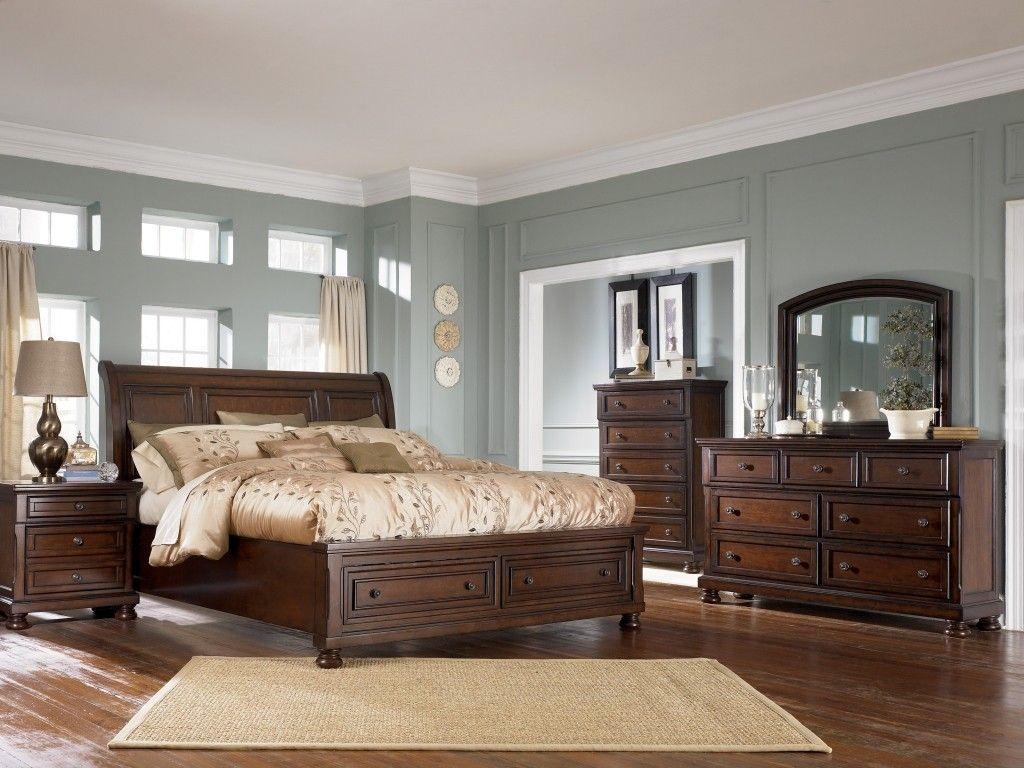 Ashley Porter Bedroom Set Brown Wood Bedroom Furniture Bedroom Furniture Sets Brown Wood Bedroom
