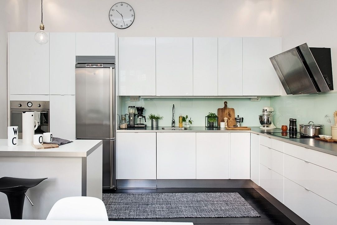 Kitchens Amp Eat Swedish Kitchen Design With Black Cabinets Done Diffe Ways Sarah