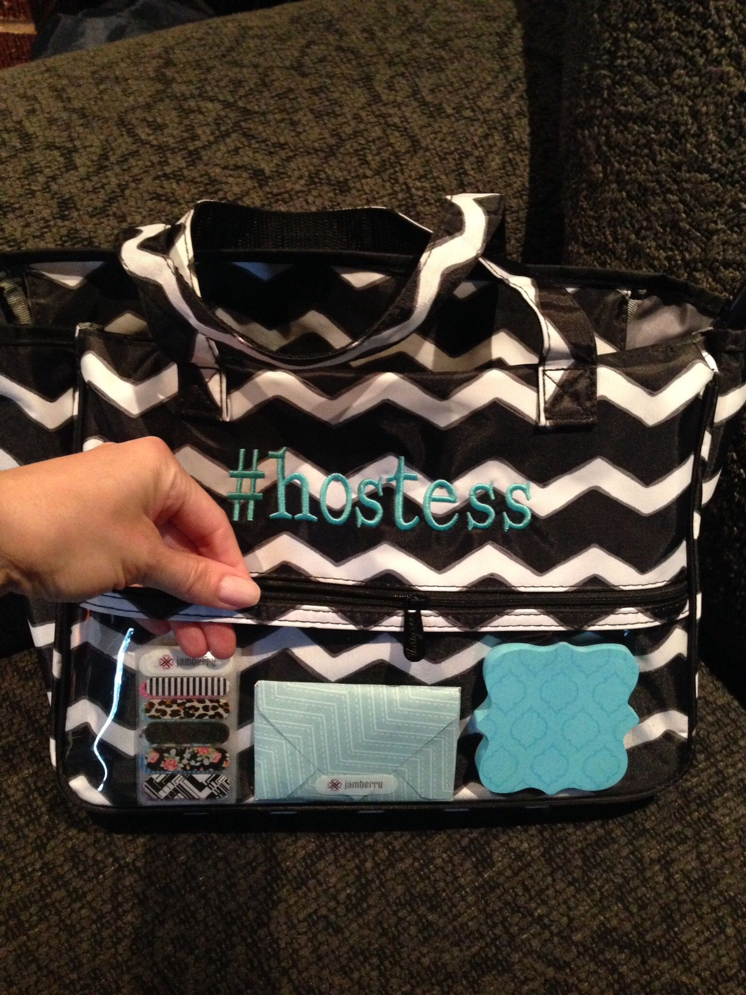 Spring Summer Hostess Exclusive True Beauty Bag Great To Subtly Advertise While Out And