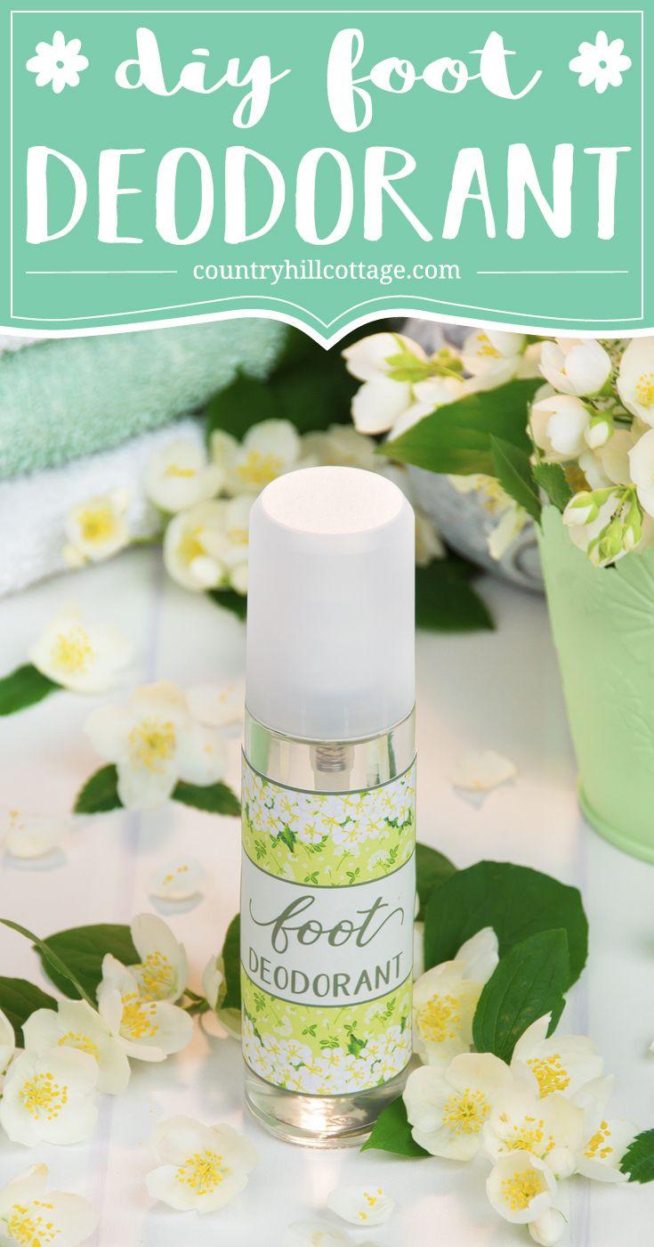 Diy foot deodorant with essential oils deodorant foot