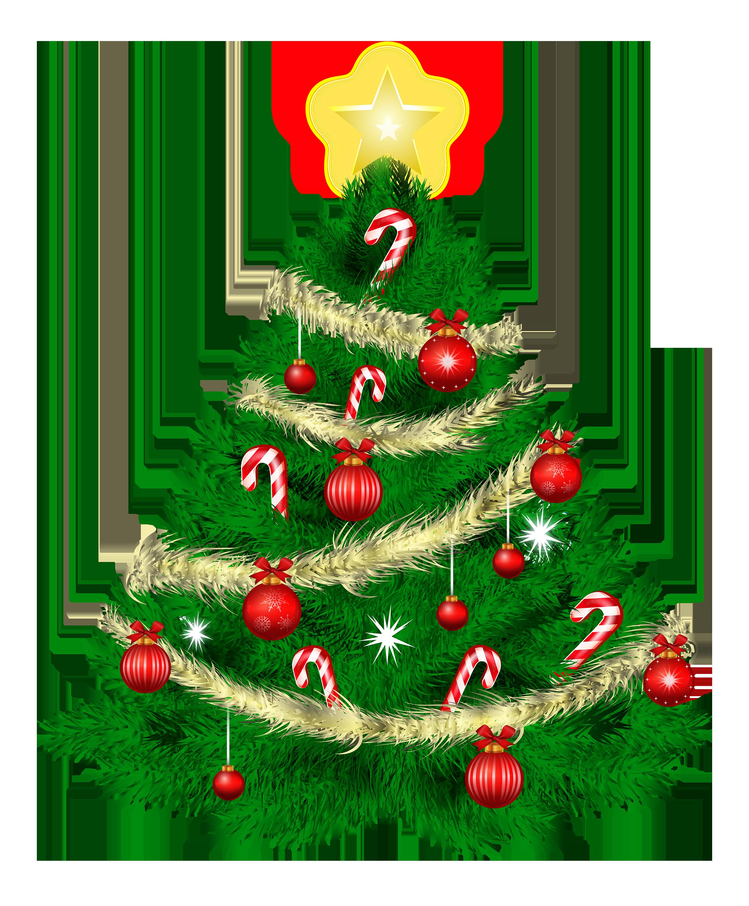 transparent christmas tree