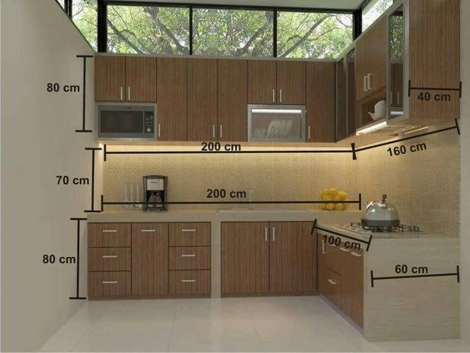 Standard Kitchen Dimensions Home Inspiration Pinterest