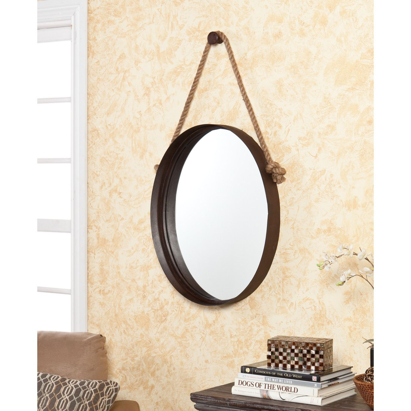 Wildon Home ® Bolivar Decorative Wall Mirror & Reviews | Wayfair ...