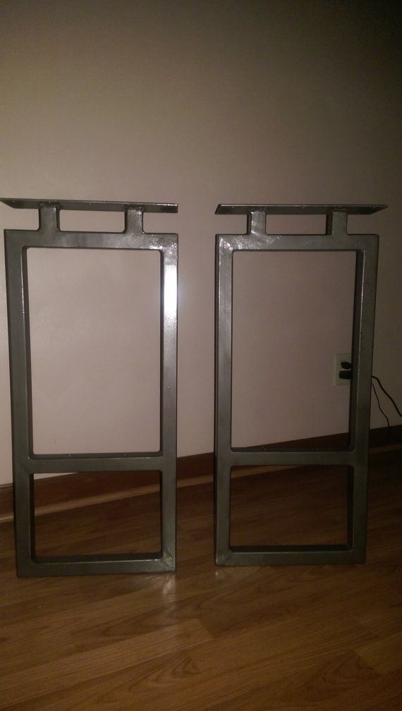 Welded Metal Table Legs By Southernmetaldesign On Etsy Southern - Welding metal table legs