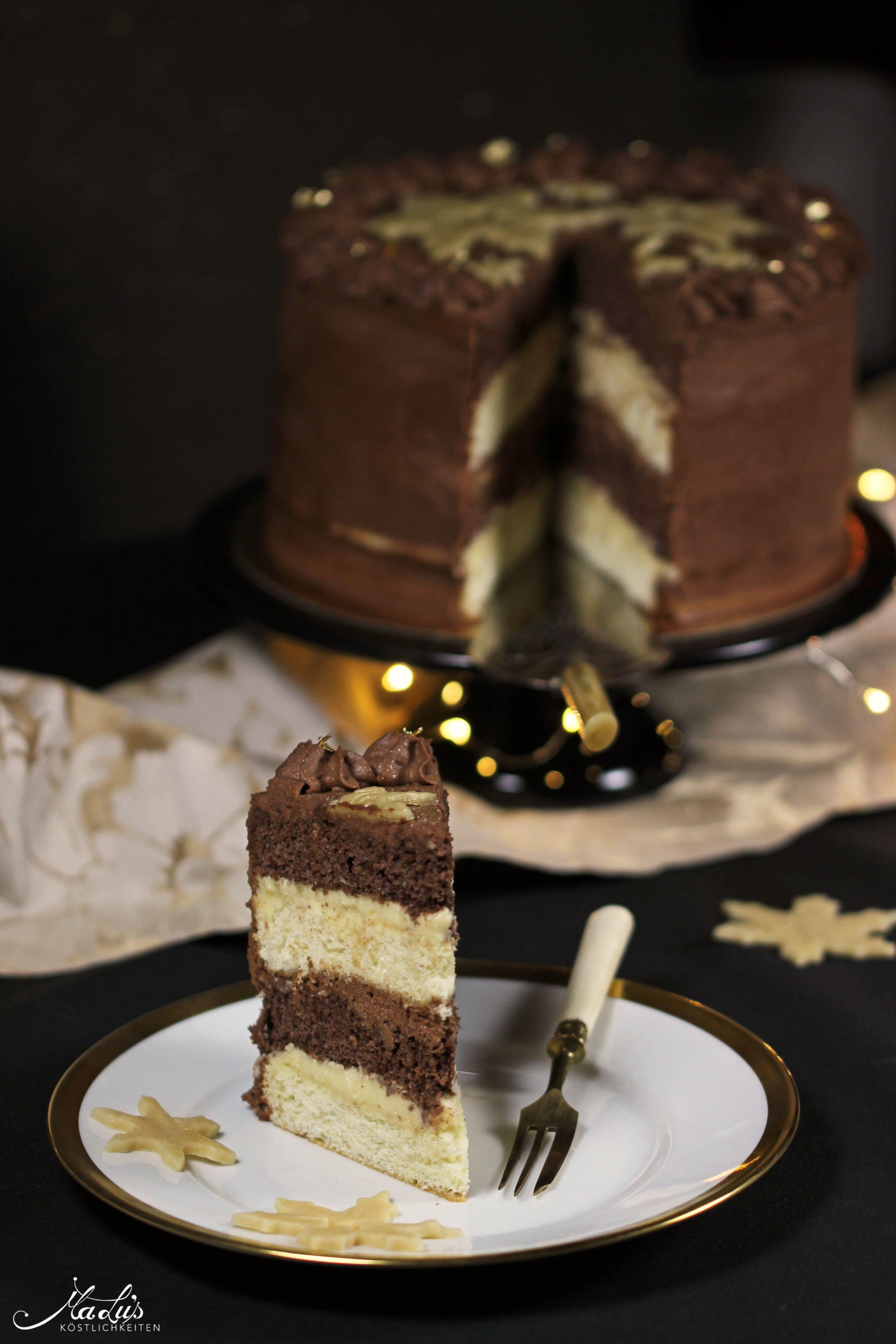 Photo of Schoko-Marzipan Torte – ich freu mich auf Weihnachten! – Mar…