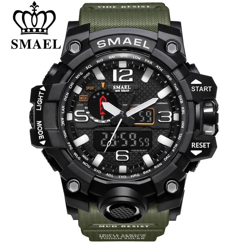 SMAEL Sports Watches Dual Display #sportswatches