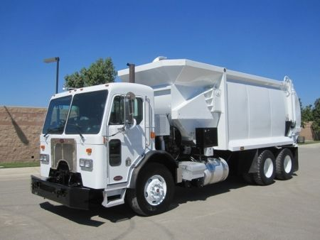 2010 Peterbilt 320 Garbage Truck For Sale With Pendpac Alleygator 30 Yard Automated Side Loader Cummins Ism 330hp Engi Peterbilt Trucks For Sale Garbage Truck