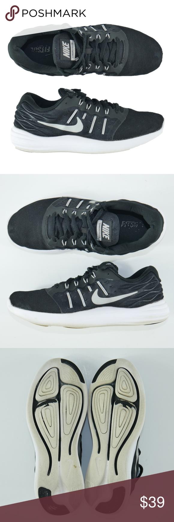 3989a883917e Nike Lunarstelos Athletic Training Shoes Running Nike Lunarstelos Athletic  Training Shoes Running White Black Mens Sz