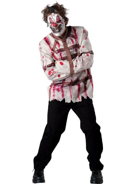 Adult Circus Psycho Clown Costume , Party City